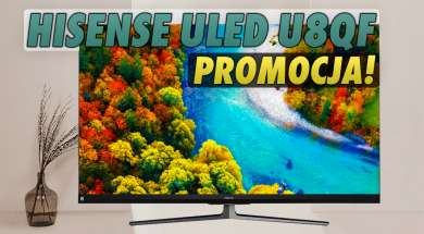 Hisense ULED U8QF telewizor 4K promocja okładka