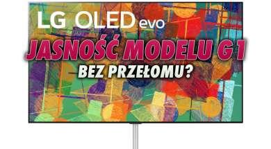 LG OLED G1 evo telewizor jasność okładka
