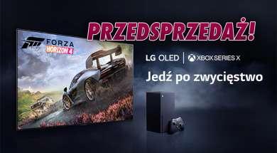 LG OLED G1 telewizor 2021 przedsprzedaż Xbox Series X