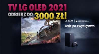 LG OLED telewizory 2021 przedsprzedaż promocje akcje okładka