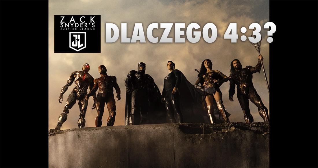 """Dlaczego """"Liga Sprawiedliwości Zacka Snydera"""" powstała w formacie 4:3? W tym sporze nie ma zwycięzców, ale pomożemy Wam wybrać obóz i ustawić obraz!"""