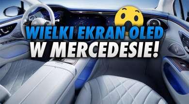 Mercedes panel OLED kokpit okładka