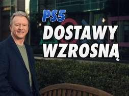 PS5 konsola dostawy 2021 Jim Ryan okładka