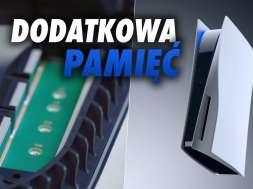 PS5 pamięć SSD okładka