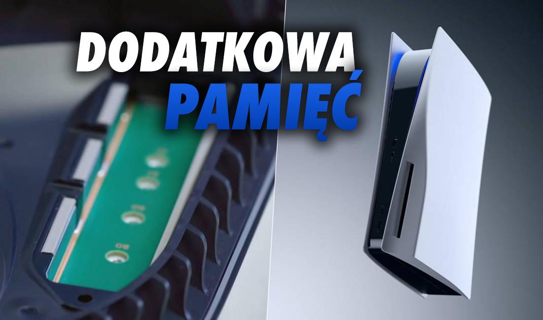 Wkrótce rozszerzymy pamięć w PS5! Sony odblokuje dodatkowy port na dysk SSD – kiedy?