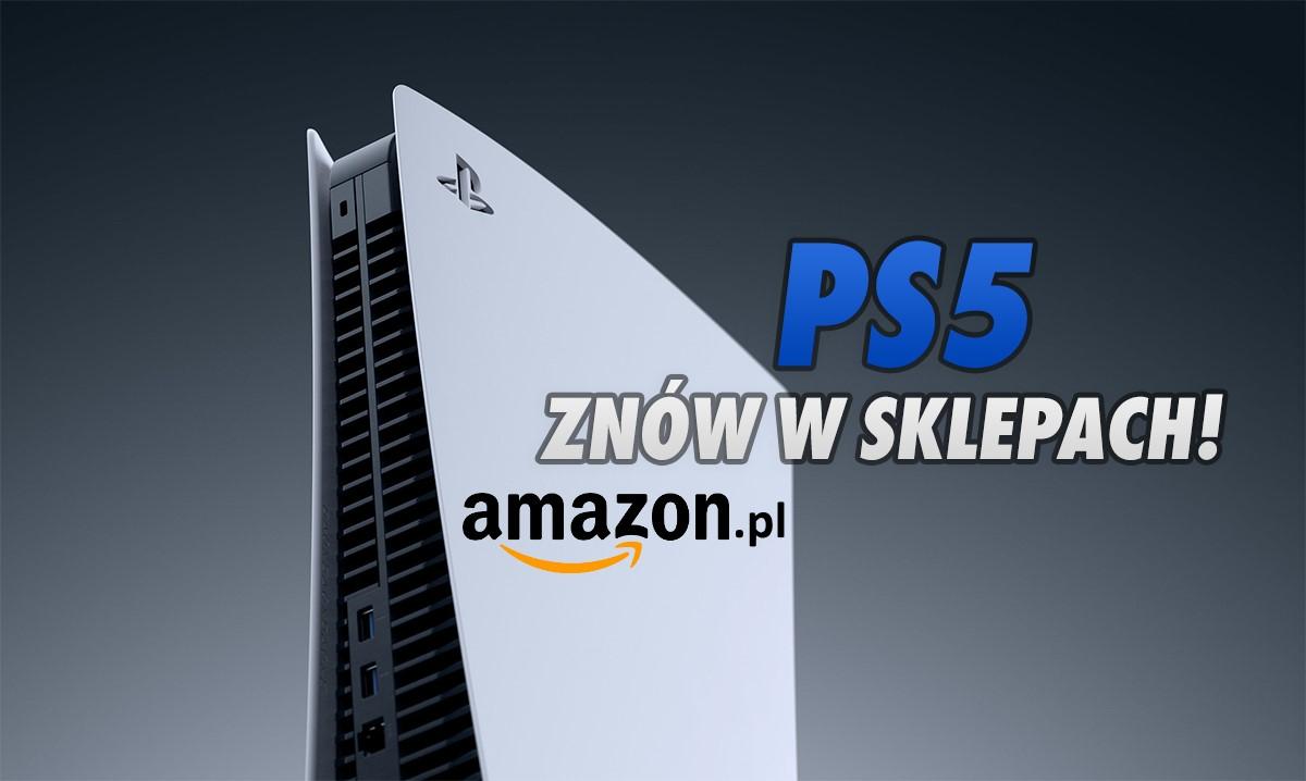 Konsola PS5 dostępna w niskiej cenie na polskim Amazon! To wersja z czytnikiem 4K w zestawie z jednym hitem. Ile zapłacimy?