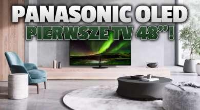 Panasonic OLED 48 cali telewizor 2021 okładka