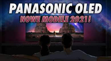 Panasonic OLED telewizory 2021 okładka