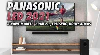Panasonic telewizory LED 2021 okładka