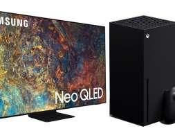 Samsung Microsoft Xbox telewizory współpraca