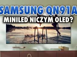 Samsung Neo QLED MiniLED QN91A telewizor lifestyle okładka