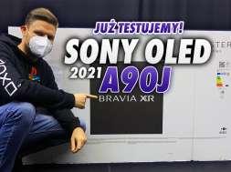 Sony 4K OLED A90J Master Series zapowiedź testu okładka