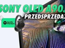 Sony OLED A90J telewizor 4K przedsprzedaż Media Expert gratisy okładka