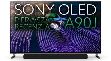 Sony OLED A90J telewizor pierwsza recenzja okładka