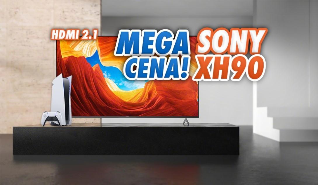 Ostatni moment na tak tani Sony TV XH90 z HDMI 2.1 4K 120Hz rekomendowany do PlayStation 5. Gdzie jeszcze kupimy?