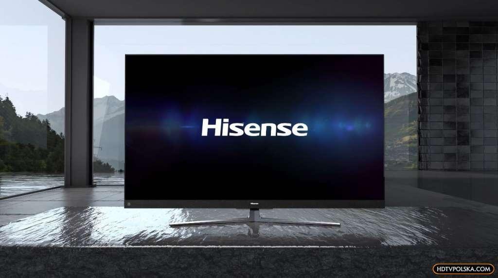 Telewizor Hisense Q8UF test wygląd room