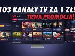 WP Pilot telewizja przez internet promocja 1 zł okładka