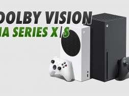 Xbox Series X S konsole Dolby Vision gry gaming okładka