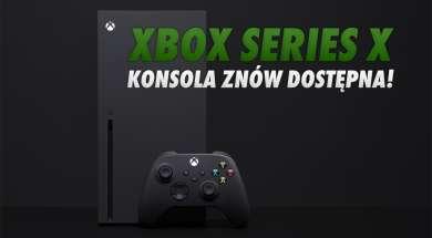 Xbox Series X konsola dostępność sklepy okładka