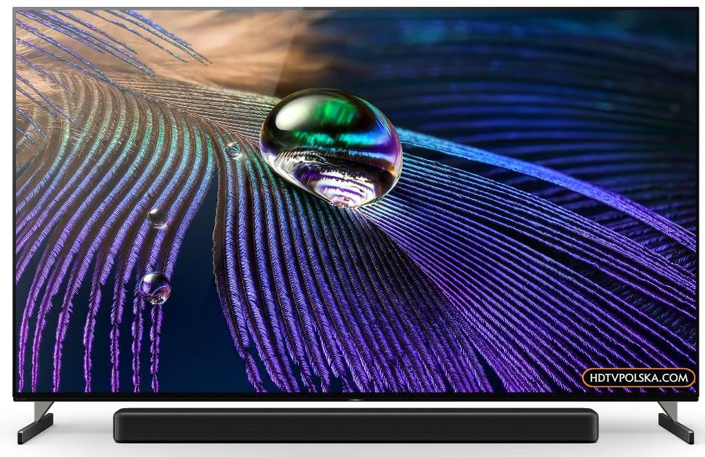 Zapowiedź otwieramy test Sony BRAVIA XR OLED A90J podstawa nóżki 1