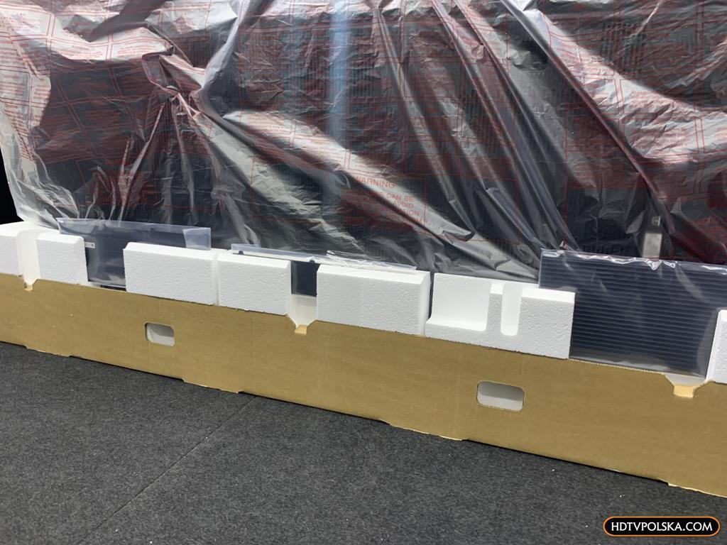 Zapowiedź otwieramy test Sony BRAVIA XR OLED A90J pudło 3