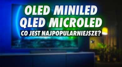 oled qled microled miniled telewizory popularność wyszukiwania okładka