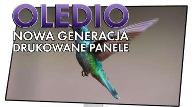 panel OLEDIO JOLED druk atramentowy okładka