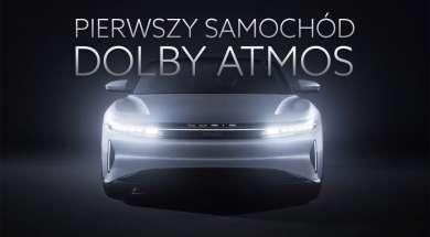 samochód Dolby Atmos Lucid Motors Air