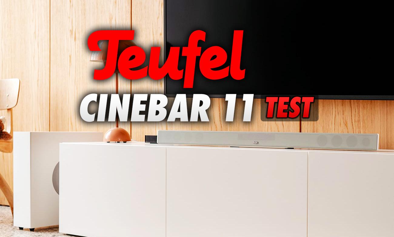 Niedrogi sposób na poprawę dźwięku w TV o kilka klas! Testujemy soundbar CINEBAR 11 cenionej marki Teufel