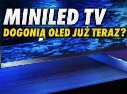 telewizory MiniLED OLED sprzedaż 2021 okładka