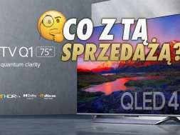 xiaomi mi TV QLED Q1 telewizor sprzedaż okładka