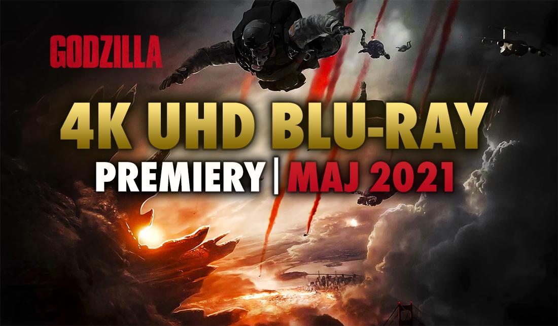 Jakie filmy pojawią się na 4K UHD Blu-ray w maju? Dystrybutor Galapagos zapowiedział nowości na płytach!