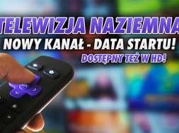Antena TV kanał telewizji naziemnej data startu okładka