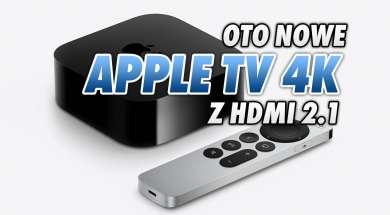 Apple TV 4K 2021 przystawka odtwarzacz wygląd 1