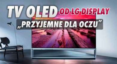 LG Displa telewizor panel certyfikat okładka