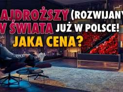 LG OLED R1 rolowany rozwijany telewizor 2021 Polska okładka