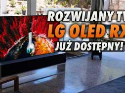 LG SIGNATURE OLED RX rozwijany rolowany telewizor okładka