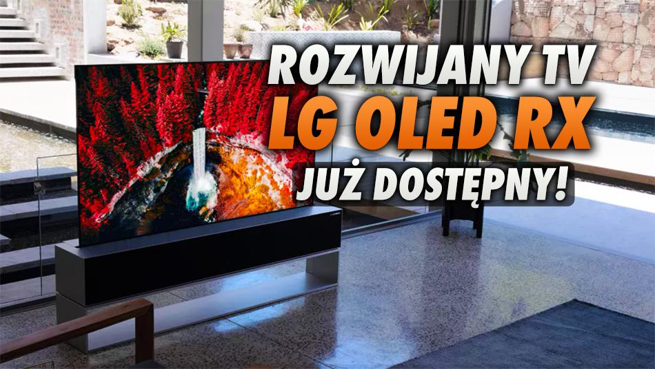 W końcu poznaliśmy cenę rozwijanego telewizora OLED od LG, która zaskakuje. Można go już zamawiać w Europie!