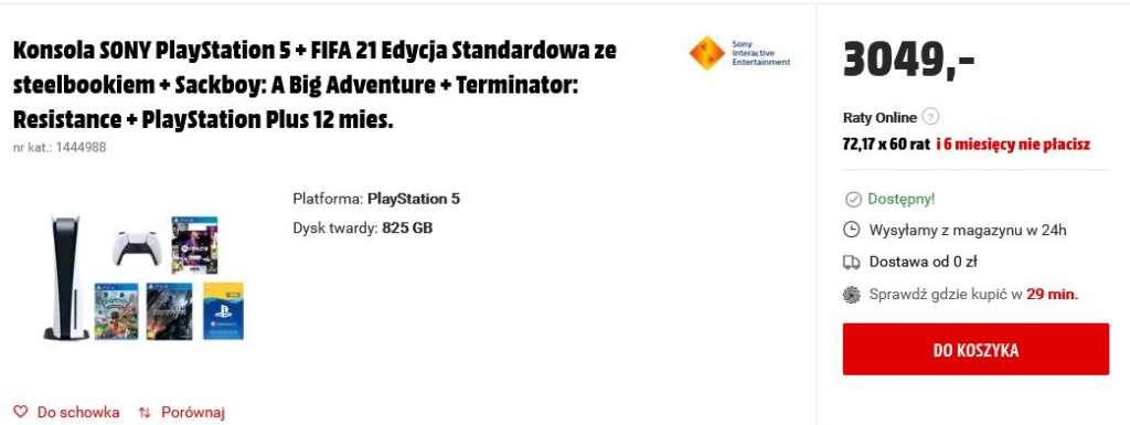 Media Markt PlayStation 5 oferta 3