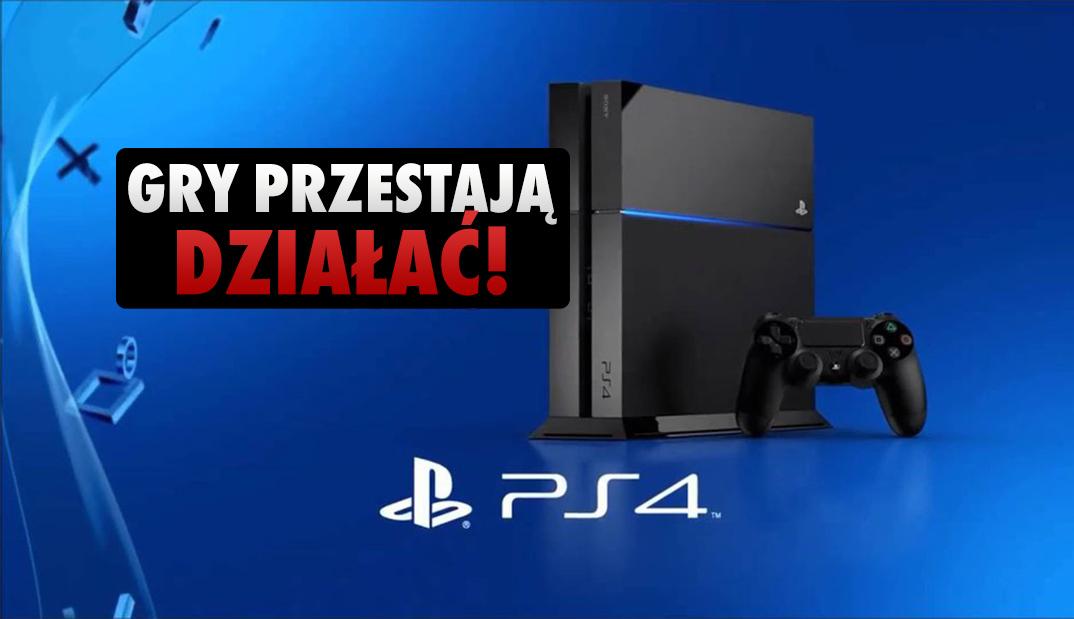 W PlayStation 4 wykryto krytyczny błąd, który na zawsze blokuje dostęp do gier – także offline! To może spotkać każdego