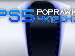 PS5 4K120Hz aktualizacja 2021 konsola Sony okładka
