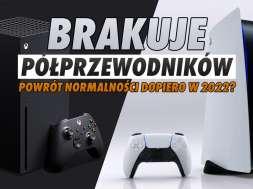 PS5 Xbox Series X okładka półprzewodniki dostawy okładka