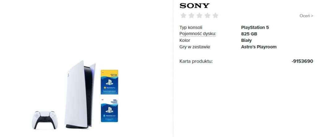 PS5 dostepne w Neonet Digital