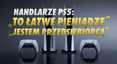 PS5 handlarze scalperzy okładka