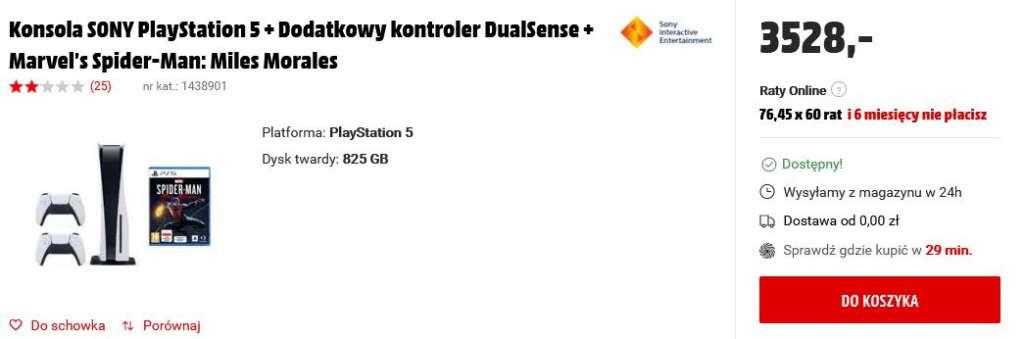 PS5 media markt konsola
