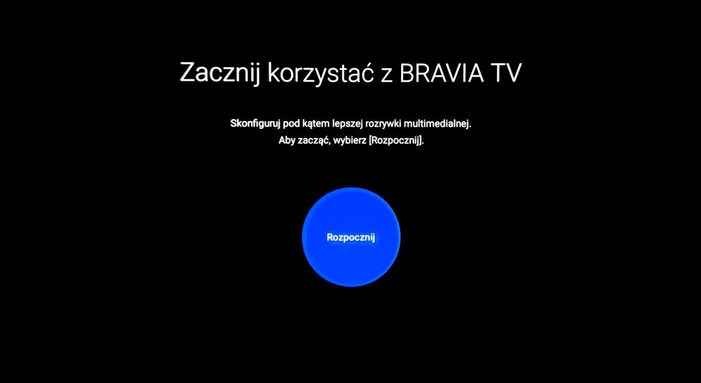 Pierwsze wrażenia test Sony BRAVIA XR OLED A90J konfiguracja