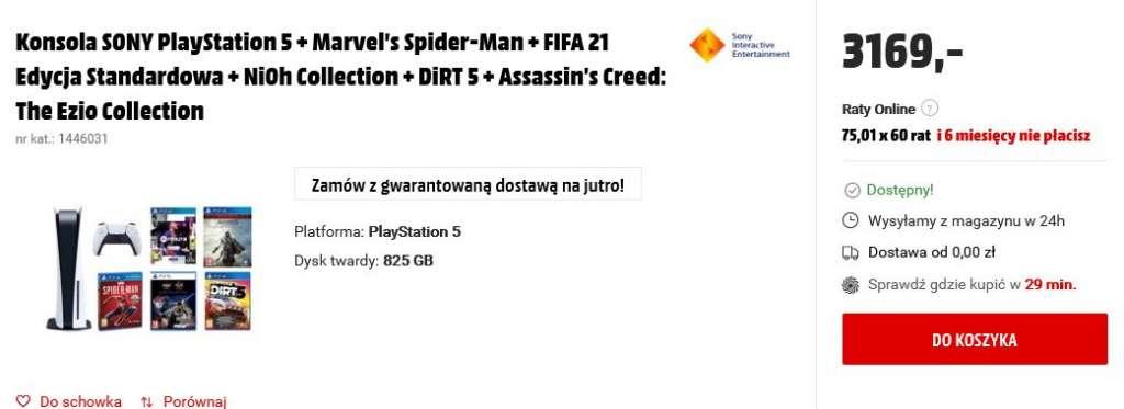 PlayStation 5 PS5 MediaMarkt 3169