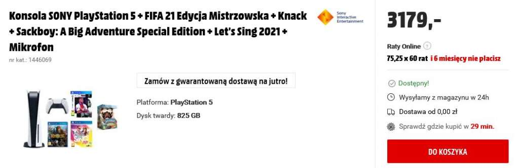 PlayStation 5 PS5 MediaMarkt 3179