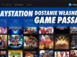 PlayStation Game Pass Sony usługa gry w abonamencie okładka