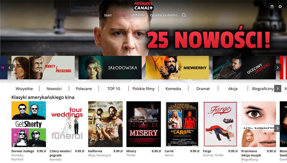 W CANAL+ zadebiutowało 25 filmów wytwórni Metro Goldwyn Mayer! Jak uzyskać do nich dostęp? Wkrótce kinowe nowości